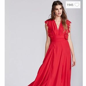Free People Poppy maxi wrap dress